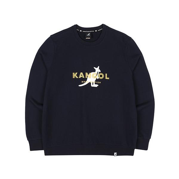 Overlap Symbol Sweatshirt 1617 NAVY
