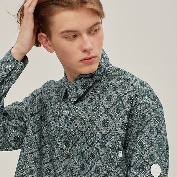 PAISLEY STRING SHIRTS_GREEN