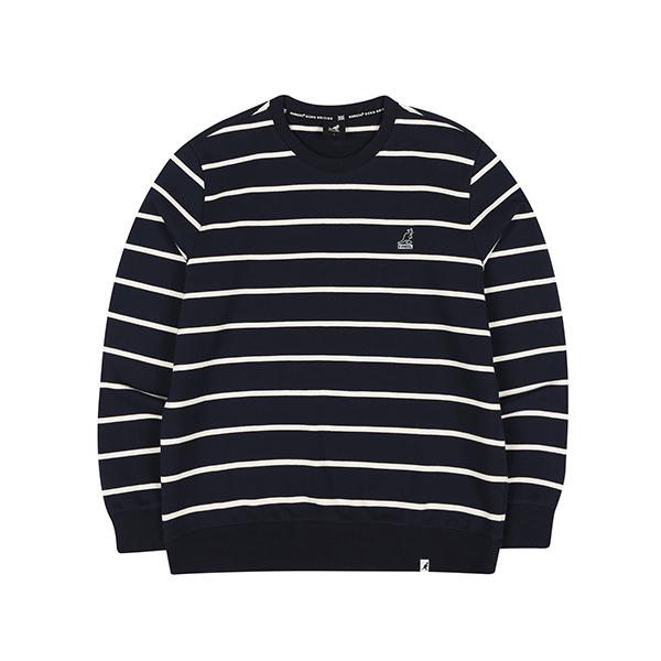 Club Stripe Sweatshirt 1614 NAVY