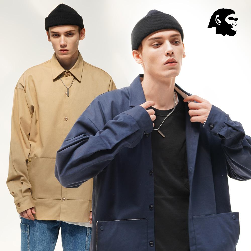 [퍼스텝] 더블 포켓 루즈핏 자켓 셔츠 4종 BJLS4289