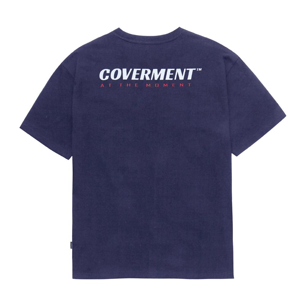 [COVERMENT] Slogan Logo Print TEE