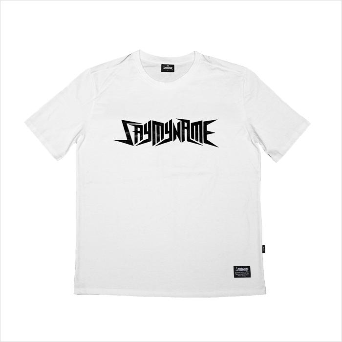 SAYMYNAME Basic White 티셔츠