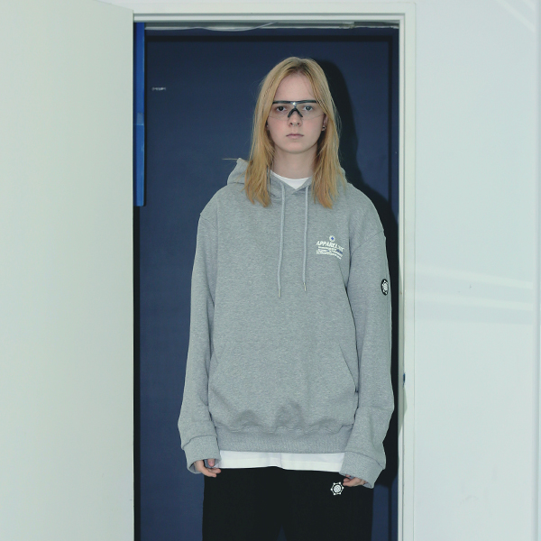 UNISEX NETWORK PROJECT HOODIE GREY