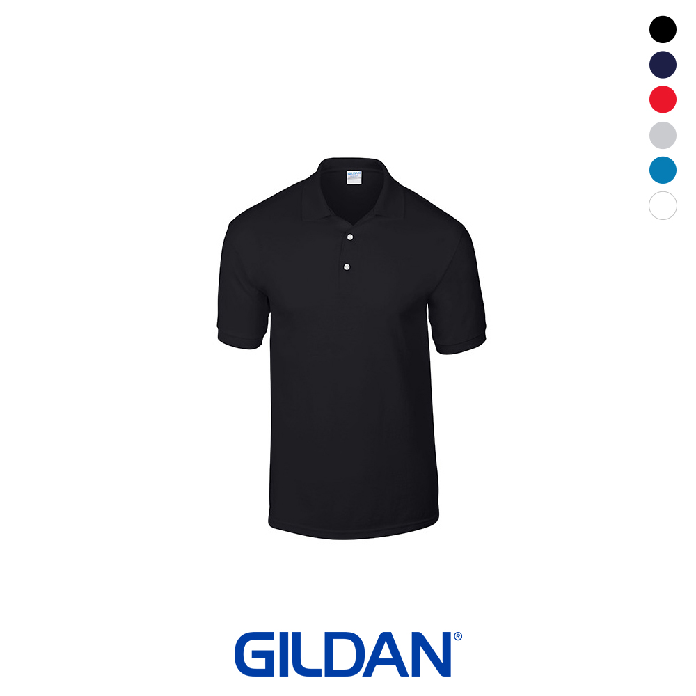 [GILDAN] 베이직 무지 폴로 티셔츠 (6 color)