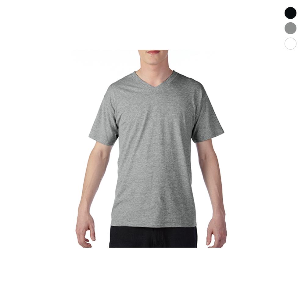 [GILDAN] 남자 소프트 V넥 반팔 티셔츠