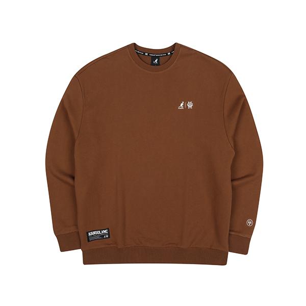 KANGOL X VMC Sweatshirt 8002 BROWN