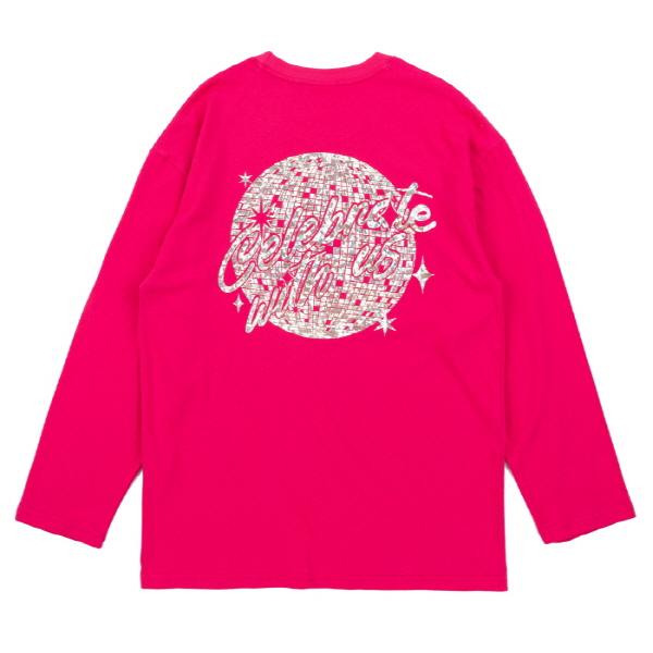 미러볼 롱 슬리브스 (핑크)