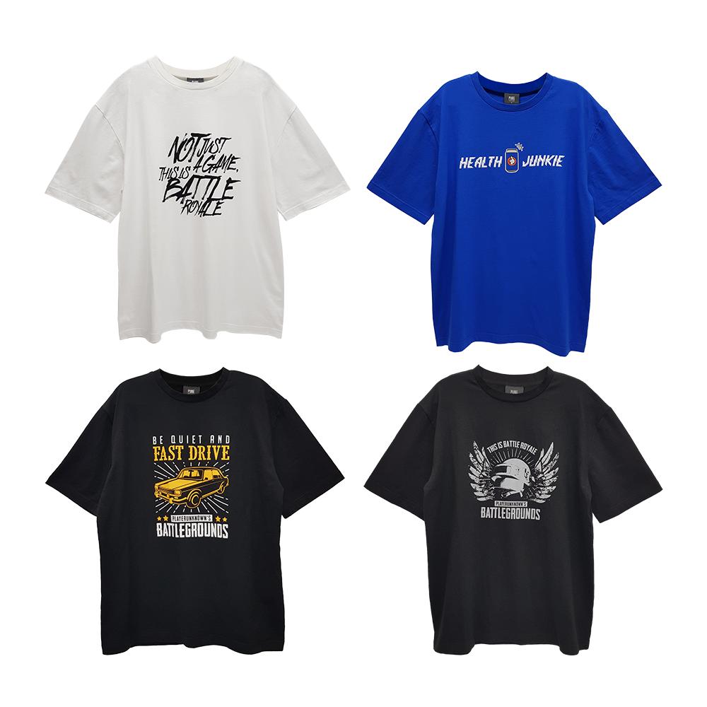 [단독특가]배틀그라운드 그래픽 티셔츠 (4종)