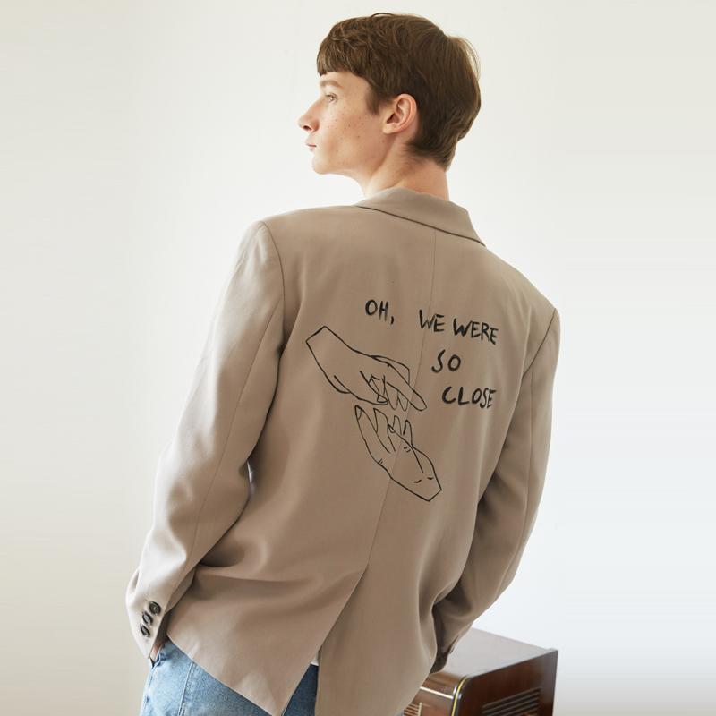 [unisex] close jacket (beige)