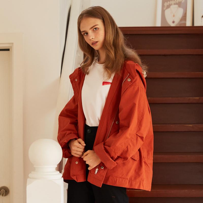 [unisex] M jacket (brown)