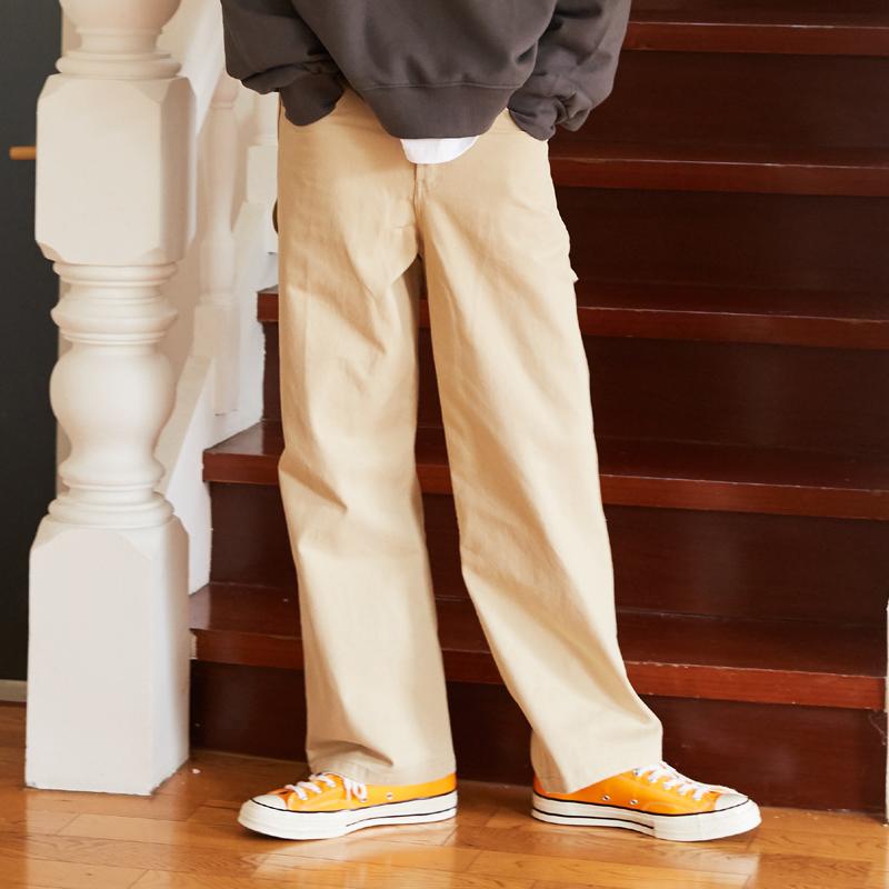 [단독특가][unisex] work pants (beige)