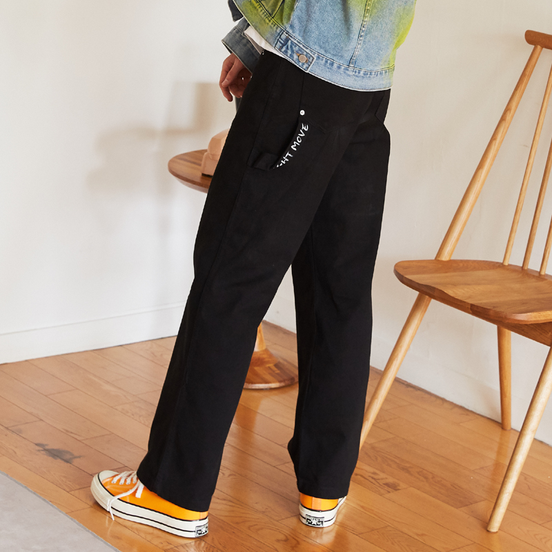 [단독특가][unisex] work pants (black)