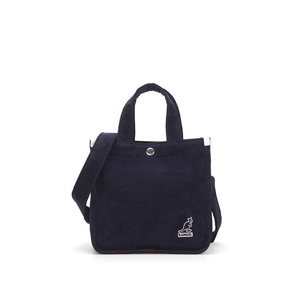 Cord mini Tote Bag 3744 DK.NAVY