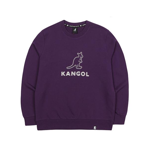 Two lines Symbol Sweatshirt 1618 PURPLE