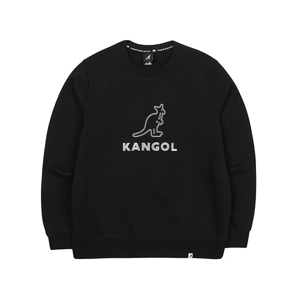 Two lines Symbol Sweatshirt 1618 BLACK