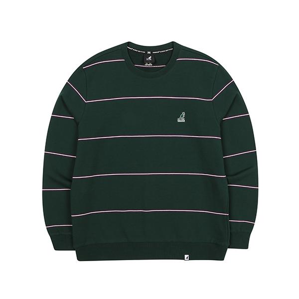 Multi Stripe Sweatshirt 1616 GREEN