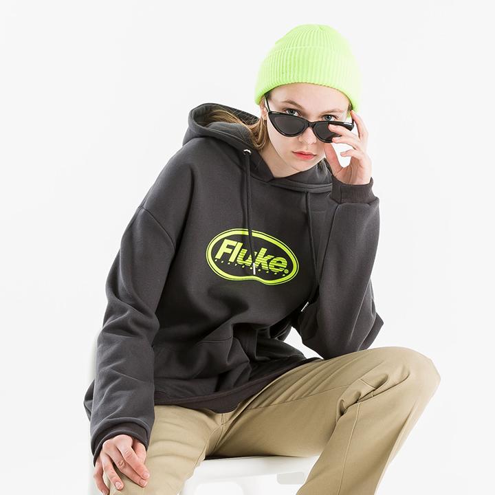 플루크 오우벌 후드티셔츠 FHT205 / 4color