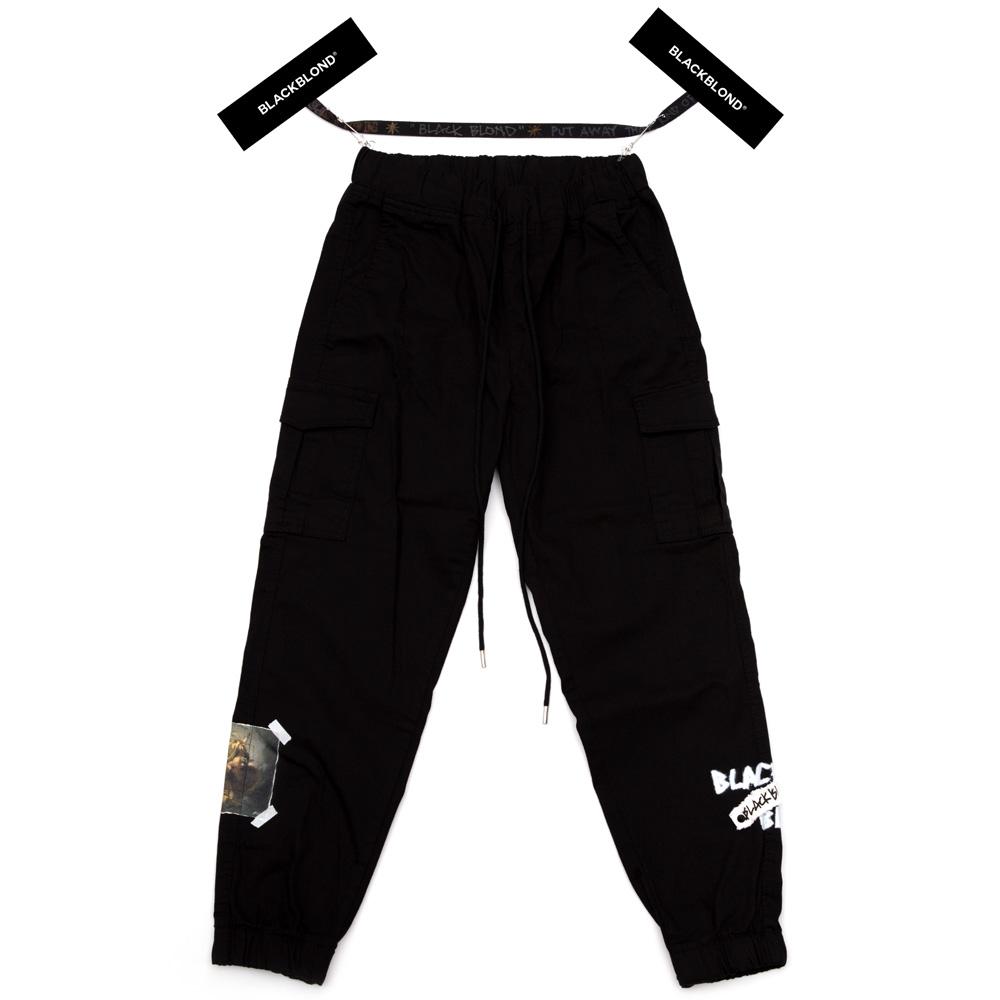 BBD Justitia Cargo Jogger Pants (Black)