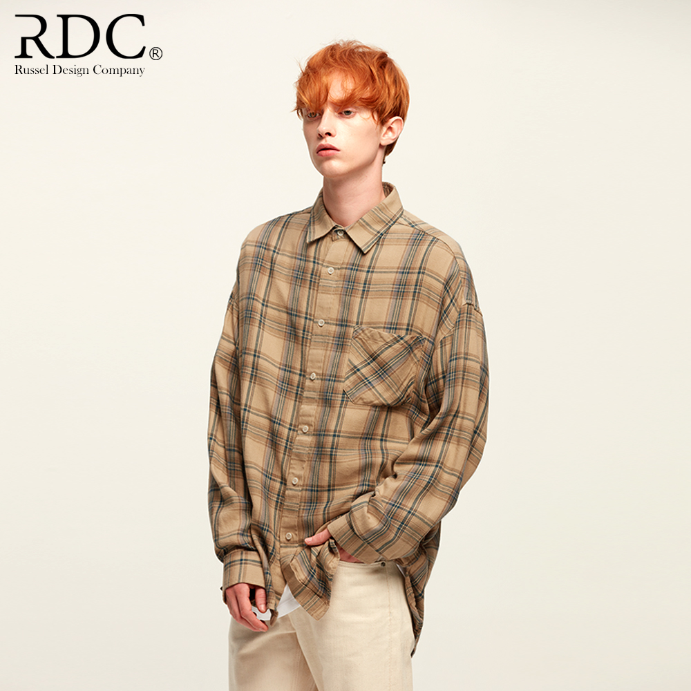 BEIGE CHECK SHIRTS