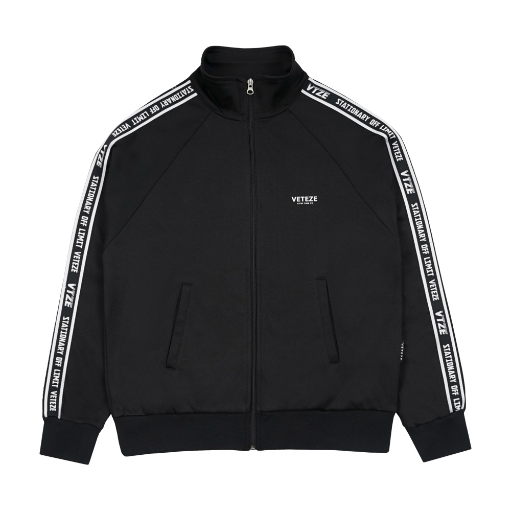 Side Line Zipup (black)