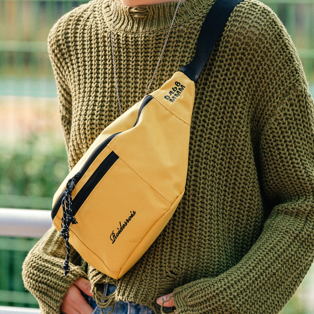 BOOM WAIST BAG (YELLOW)