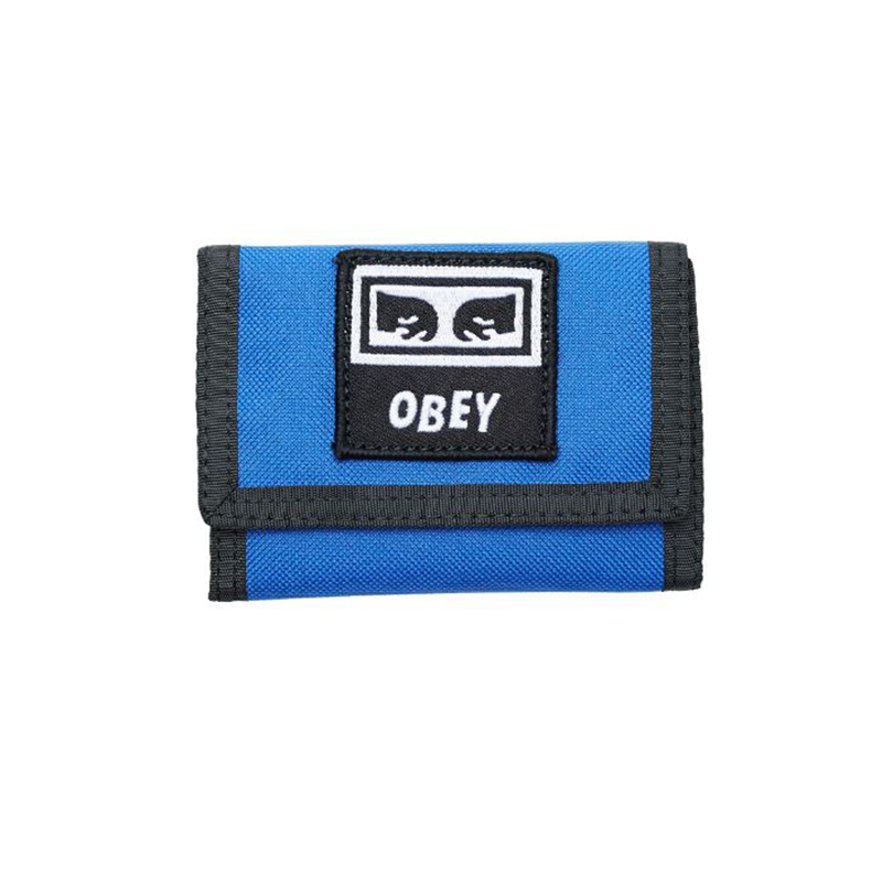 [결산세일][단독할인]오베이 지갑 TAKEOVER TRI FOLD WALLET 100010122 BLUE