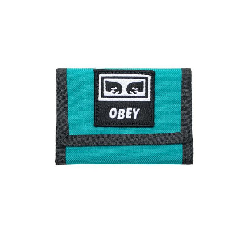 [결산세일][단독할인]오베이 지갑 TAKEOVER TRI FOLD WALLET 100010122 GREEN