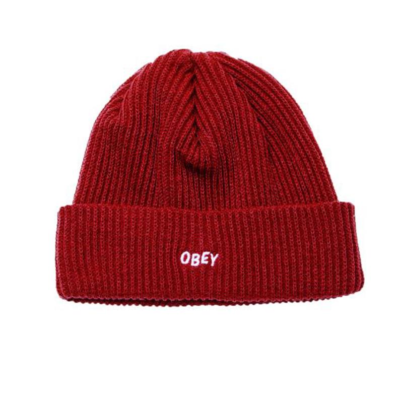[단독할인]오베이 비니 HANGMAN BEANIE 100030102 BRICK RED