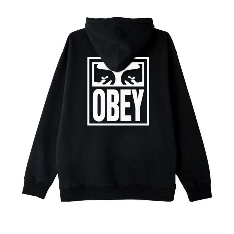 [단독할인]오베이 후드 OBEY EYES ICON 112841874 BLACK