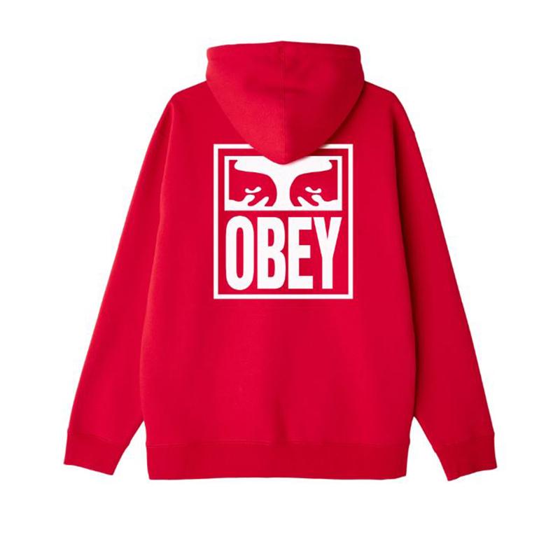 [단독할인]오베이 후드 OBEY EYES ICON 112841874 RED