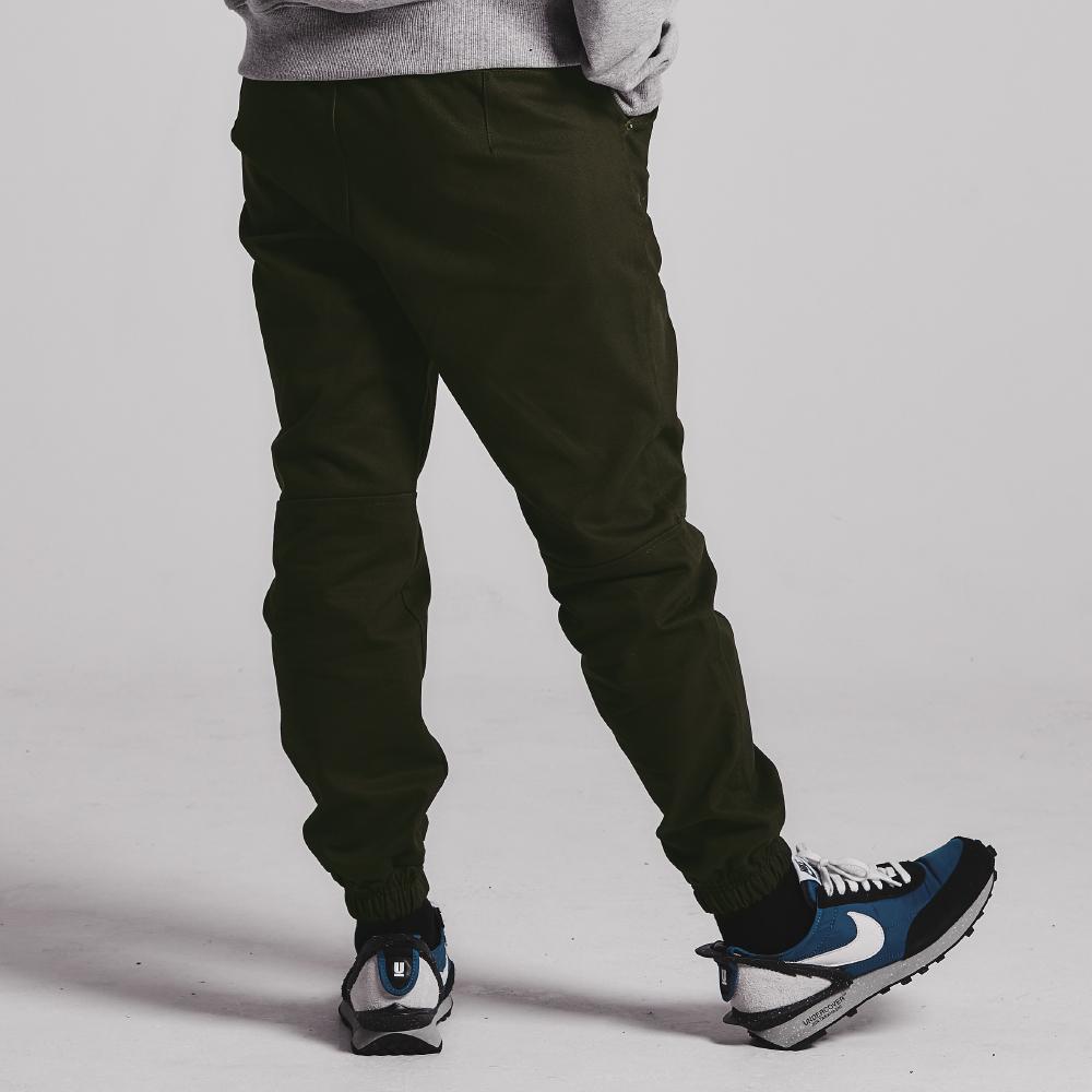 Dart jogger pants_KHAKI BROWN
