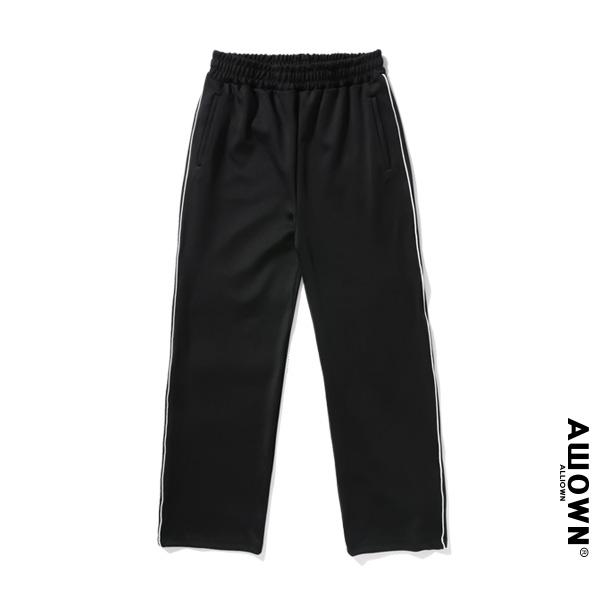 올라온 - Piping Training Pants - Black