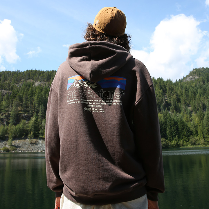 플루크 마운틴 실루엣 후드티셔츠 FHT2010 / 3color