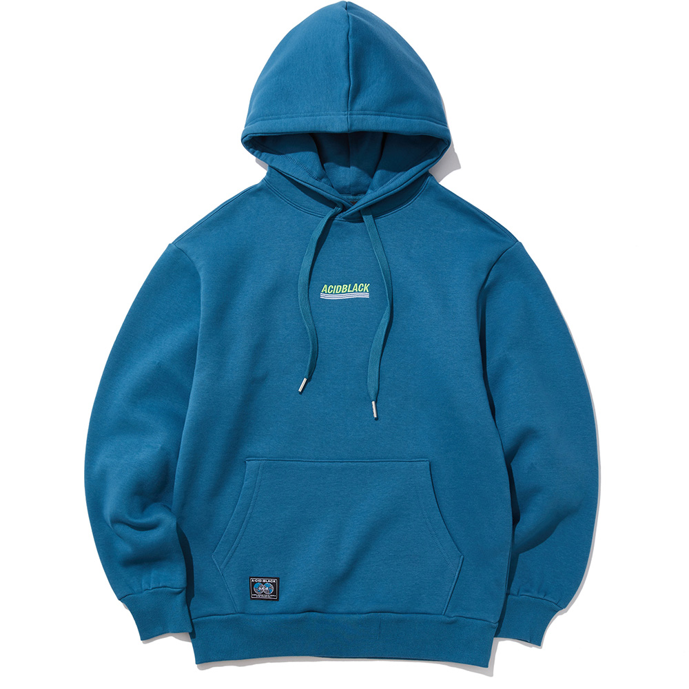 [결산세일]NEW WAVE EMBROIDERED HOOD (DEEP BLUE)