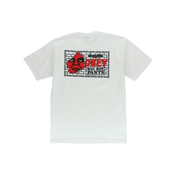 [국내배송]오베이 BOX TEE 반팔티 BIG BOY PANTS BASIC TEE WHITE (163081595-WHT)