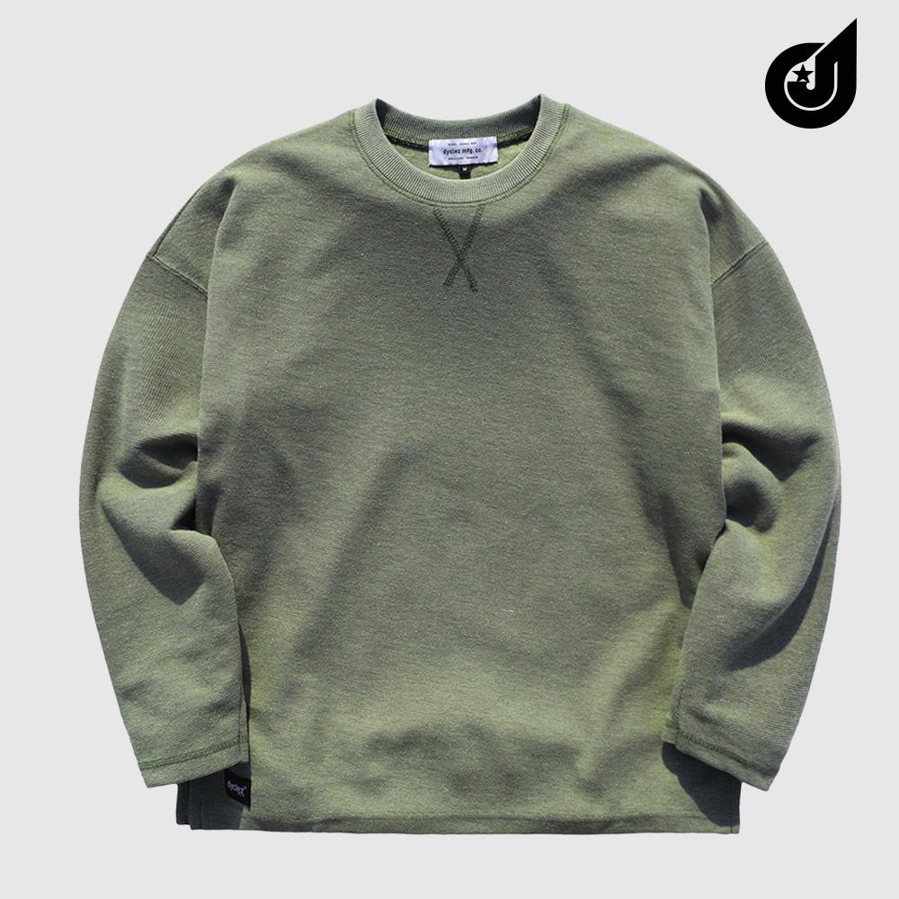 [다이클레즈] 하드워크 티셔츠 카키 KHLT5088