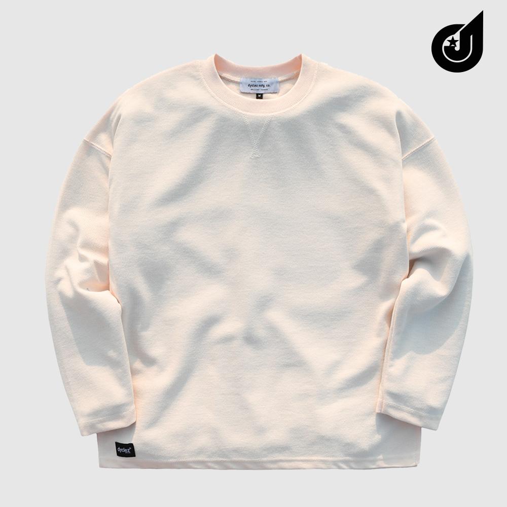 [다이클레즈] 하드워크 티셔츠 아이보리 KHLT5088