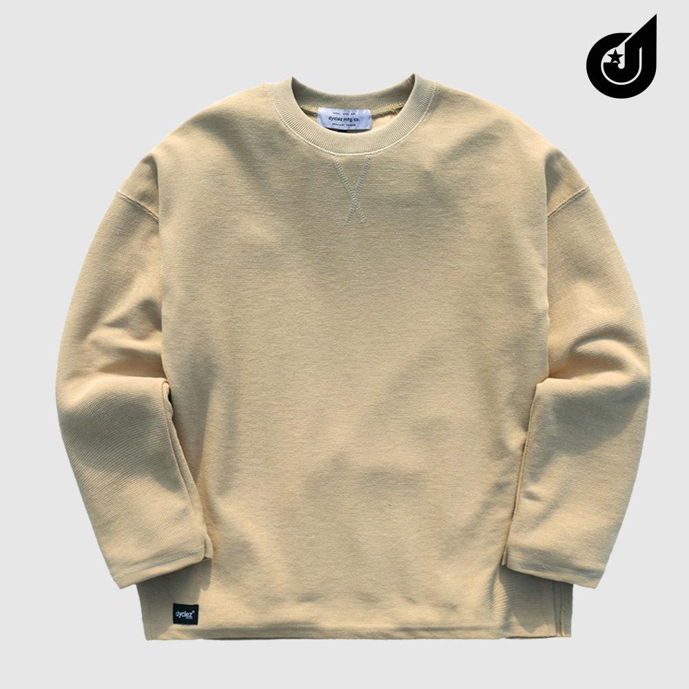 [다이클레즈] 하드워크 티셔츠 베이지 KHLT5088