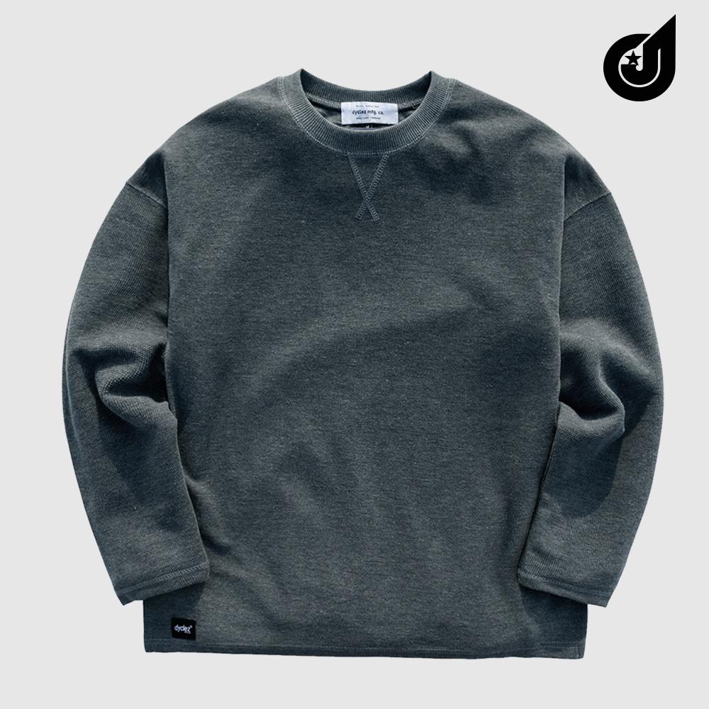 [9/17까지할인][다이클레즈] 하드워크 티셔츠 다크그레이 KHLT5088