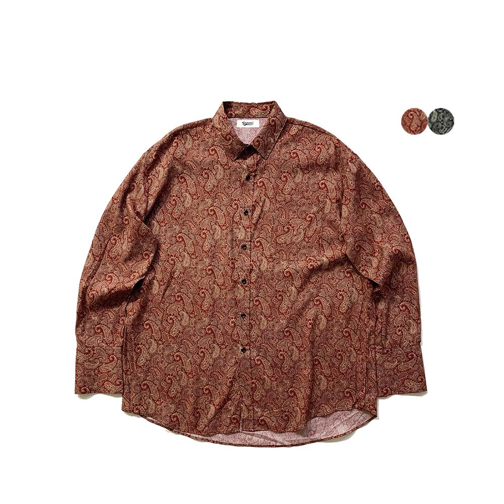 리메이크 페이즐리 셔츠 Remake Paisley Shirt (2color)