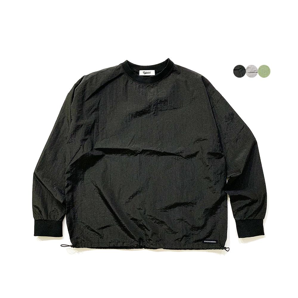 나일론 글로스 스웨트셔츠 Nylon Gloss Sweat Shirt(3color)