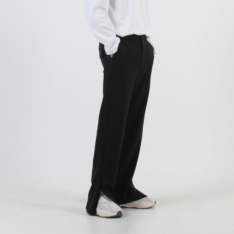 ZIPPER BANDING SLACKS
