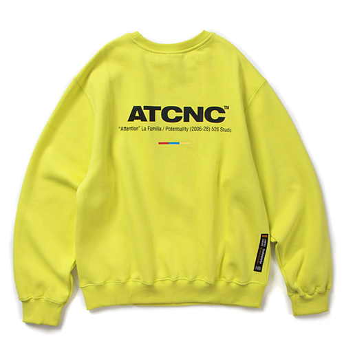 ATCNC CREWNECK (NEON)
