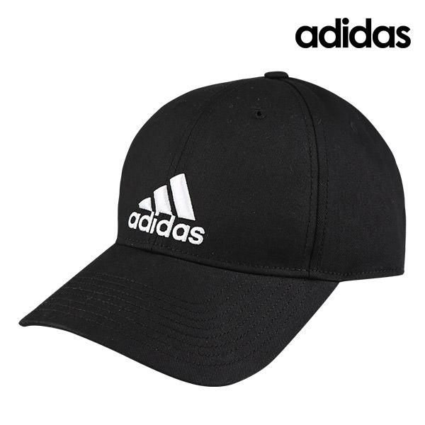 [국내배송]아디다스 6P 코튼 볼캡 모자 블랙 (S98151)