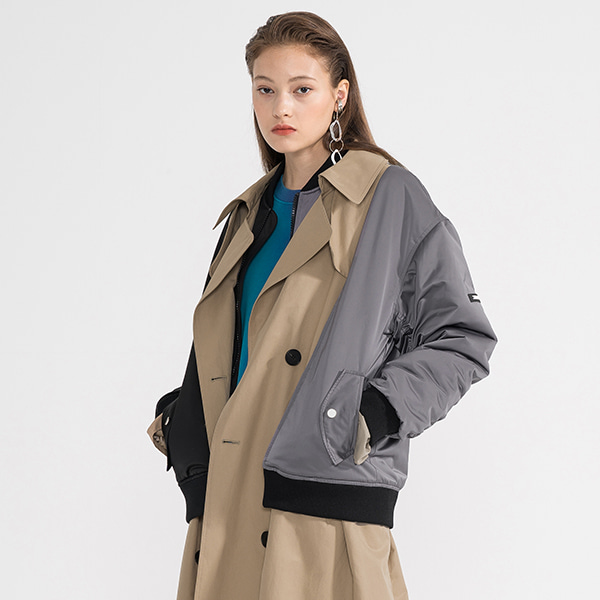 JUMPER TRENCH COAT WOMAN