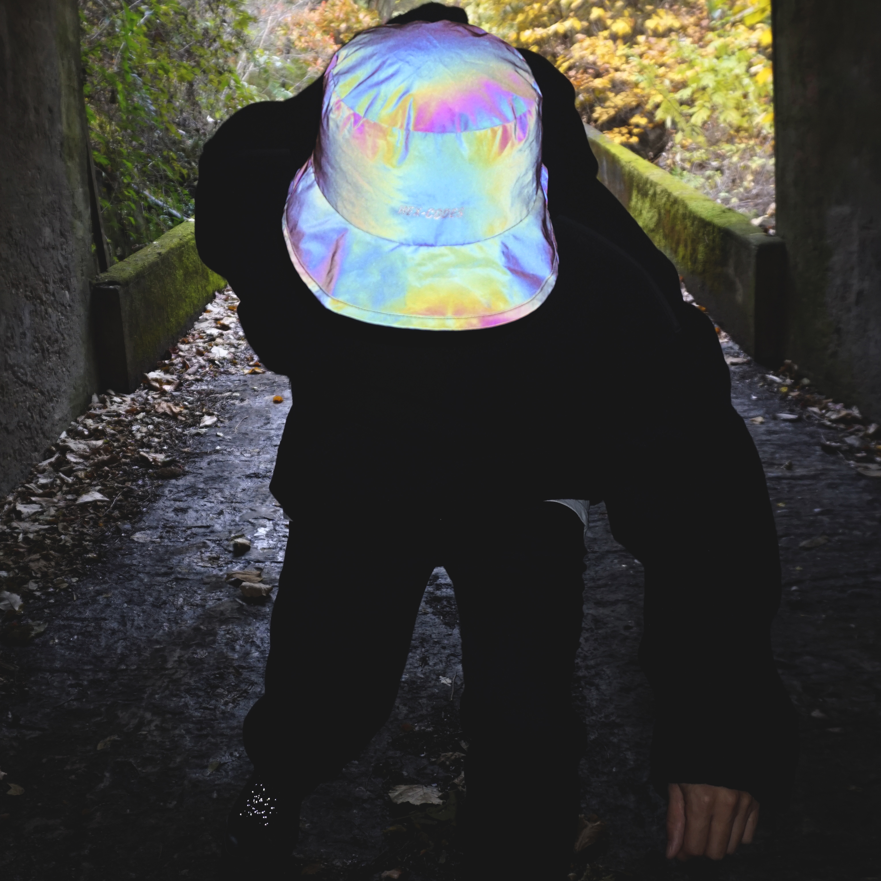 H07 REFLECTIVE HAT WITH 3M HOLOGRAM 홀로그램 버킷햇 모자