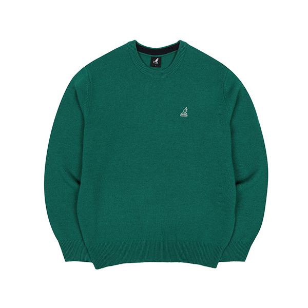 Club Knit Sweater 1806 GREEN