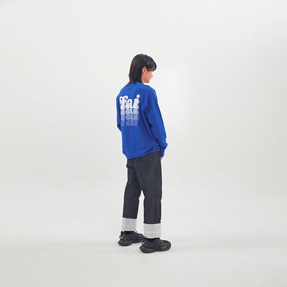 ffai SMALL LOGO SWEAT-SHIRT_Blue