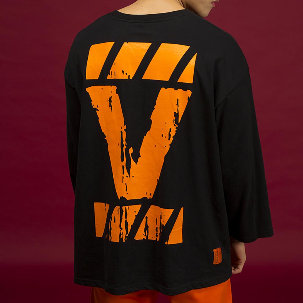 오버 브릭 티셔츠 [black]