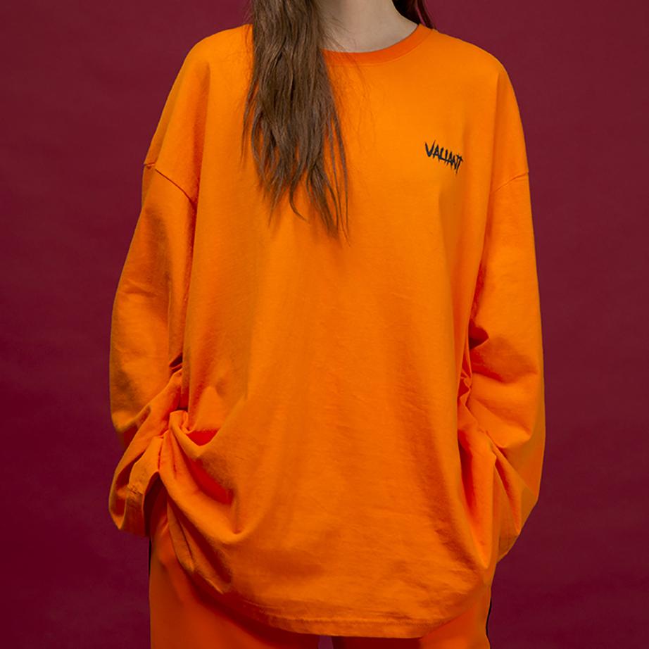 오버 브릭 티셔츠 [orange]